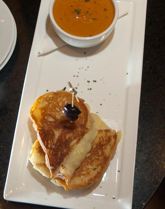 Grilled cheese at The Lobby Bar and Cafe (Mark Hancock)