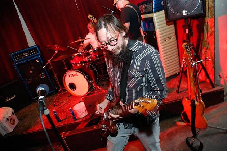 Bodanga performs at the Red Brick Bar during Norman Music Festival, Thursday, April 23, 2015. (Garett Fisbeck)