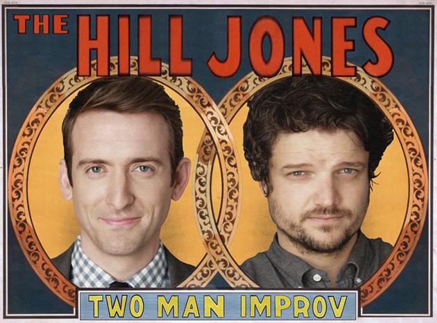 Dave Hill and Matt Jones