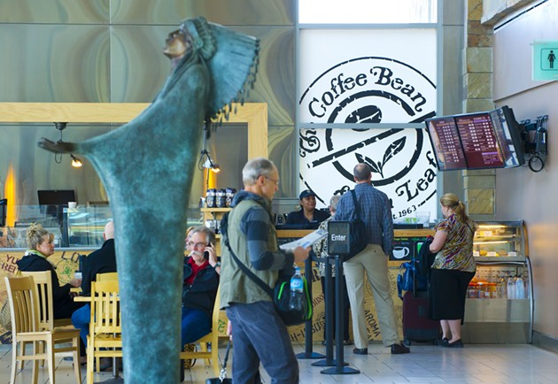 The Coffee Bean is the newest addition of retail at Will Rigers World Airport.Photo/Shannon Cornman - SHANNON CORNMAN