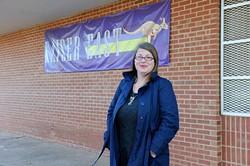 Stephanie Jensen poses for a photo at Kaiser East in Oklahoma City, Sunday, Jan. 3, 2015. - GARETT FISBECK