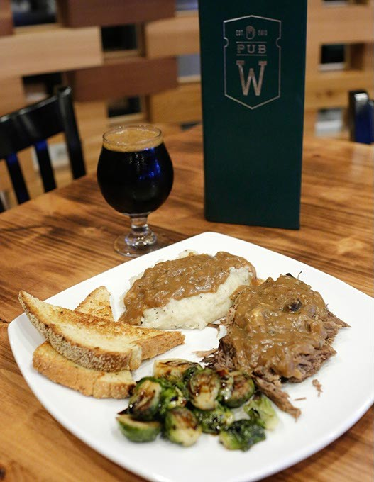 Pot roast at Pub W in Oklahoma City, Tuesday, Aug. 25, 2015. - GARETT FISBECK