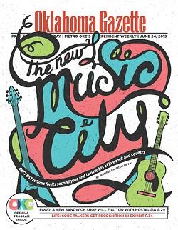 (Cover by Paul Mays / Oklahoma Gazette)