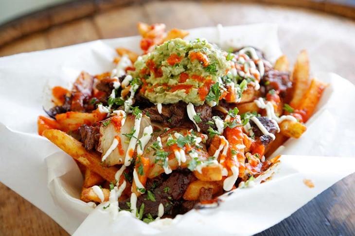 Kimchi fries (Garett Fisbeck)