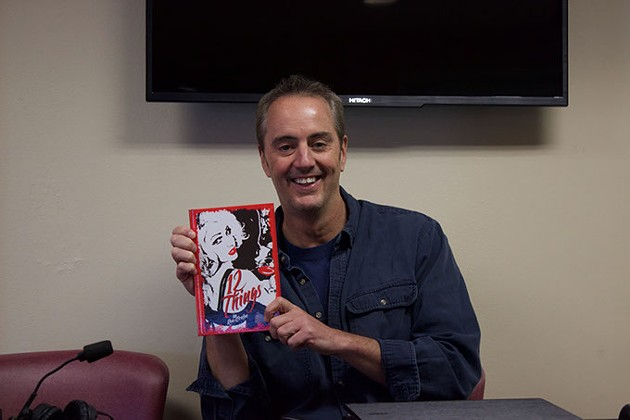 Ron Benton, aka Spinozi, at a recent book signing for 12 Things. (Provided)