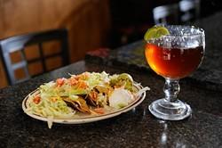 Cueva's Old Fashion Tacos at La Cueva Grill in Oklahoma City, Friday, Dec. 12, 2014. - GARETT FISBECK