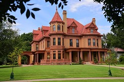 Overholser Mansion at 405 N.W. 15th Street, 9-8-15. - MARK HANCOCK