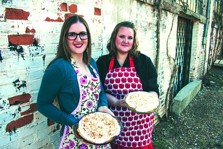 Deanna Layman (left) and Charissa Morrison of Viva La Pies. - Photo Provided