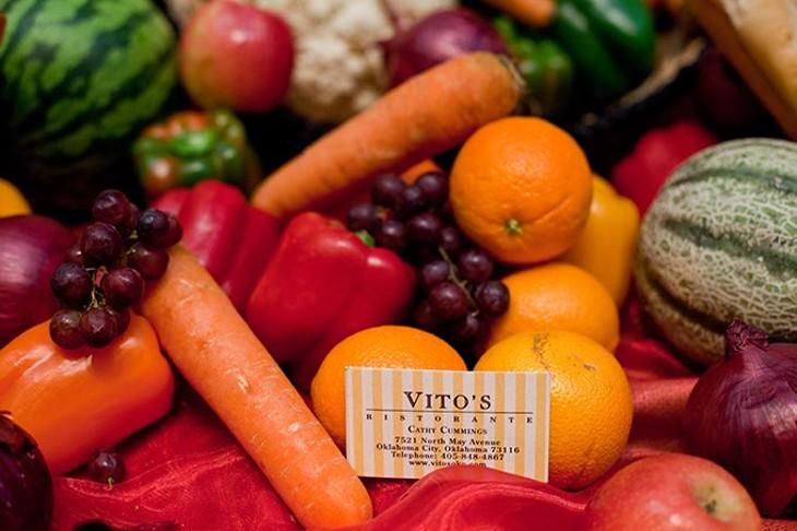 Vita's Ristorante display at last years Chef's Feast. - PROVIDED