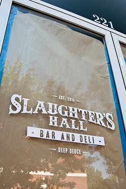 Slaughter's Hall is being renovated by WSKY Lounge owner Jarrod Holley. (Mark Hancock)