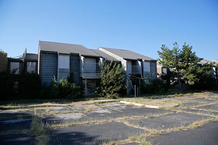 Lantana Apartments at 7408 NW 10th Street in Oklahoma City, Tuesday, Sept. 15, 2015. - GARETT FISBECK