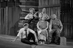 The cast of CityRep's The Grapes of Wrath. - PROVIDED