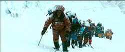 """Rob Hall (JASON CLARKE) leads the expedition in """"Everest"""".  Inspired by the incredible events surrounding an attempt to reach the summit of the world's highest mountain, """"Everest"""" documents the awe-inspiring journey of two different expeditions challenged beyond their limits by one of the fiercest snowstorms ever encountered by mankind. - PHOTO CREDIT: UNIVERSAL PICTURES"""