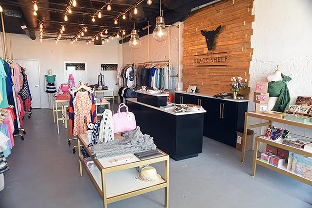 Black Sheep is a new shop near the Walker Circle in MidTown.  mh