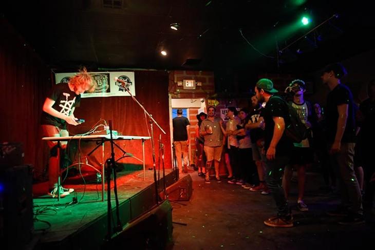 DBOYD performs at Norman Music Festival 9 in Norman, Friday, April 22, 2016. - GARETT FISBECK