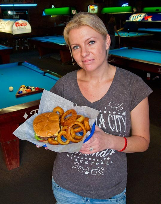 The cheeseburger at its unassuming best - hot off the grill at Chester's Billiards and Grill (Shannon Cornman)