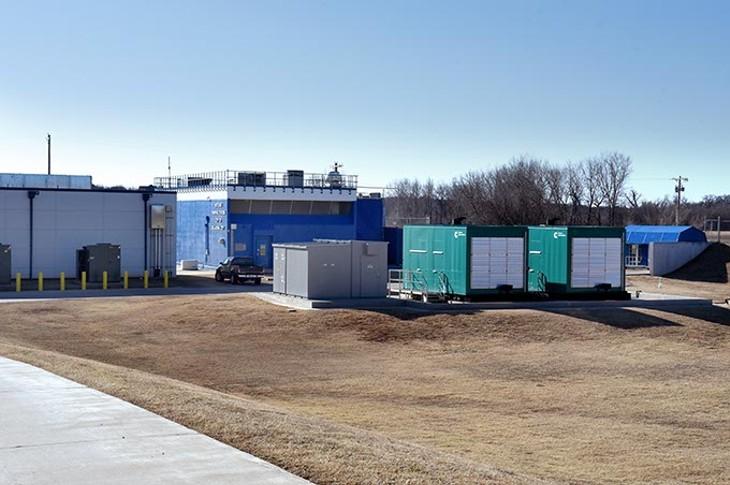 Witcher Pump Station of Oklahoma City, 5520 East Hefner Road, 12-23-15. - MARK HANCOCK