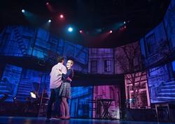 Zachary Prince as Henry Mann and Liz Shivener as Christine. Photo by KO Rinearson. - KO RINEARSON