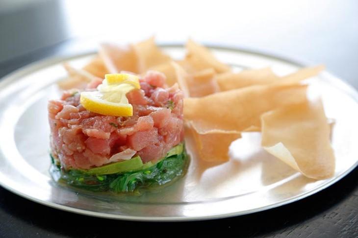 ahi tuna tartare - GARETT FISBECK