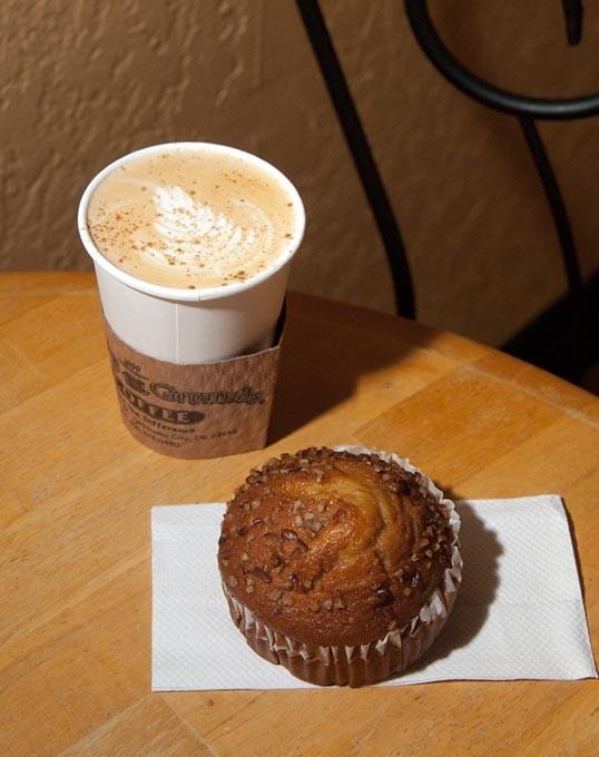 Pumpkin spice latte (Mark Hancock)