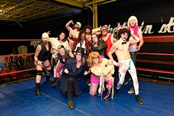 Blowmania at Mid South Wrestling, Monday, April 11, 2016. - GARETT FISBECK