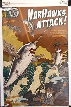 Narhawks Attack! (Mark Hancock)