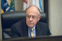 Ward 8 Councilman Patrick Ryan at the MAPS Citizen's Avisory Board meeting, 9-27-12, City Hall.  mh