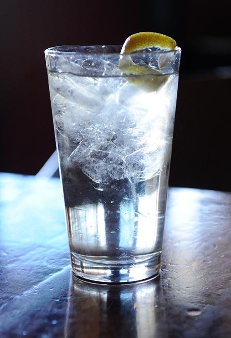 St. Germain Cocktail at Martini Lounge in Oklahoma City, Tuesday, Jan. 27, 2015. - GARETT FISBECK