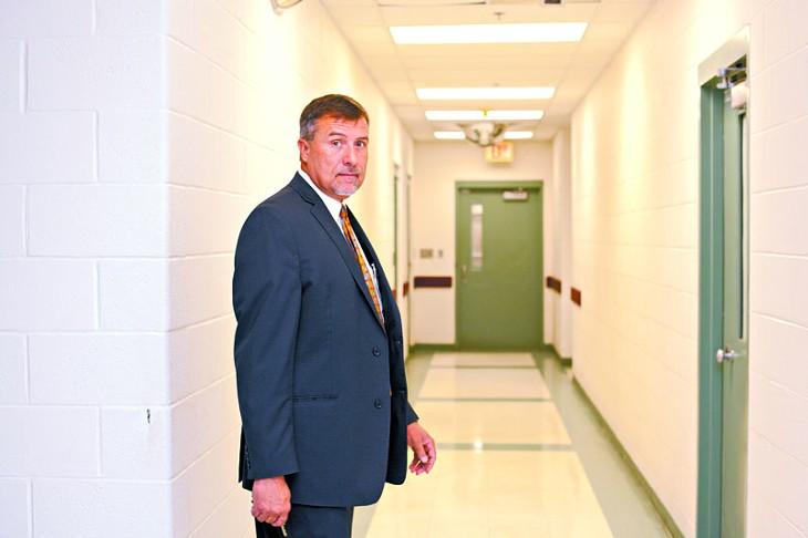 Bill Alexander, facility director for Canadian Country Children's Justice Center in El Reno, Oklahoma. Photo By Lauren Hamilton.