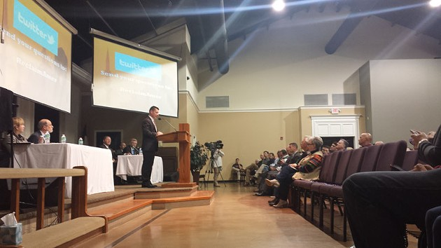 Fairview Baptist Church in Edmond was the site of a anti-Islam lecture that argued Muslims seek to overthrow the American government. - BEN FELDER