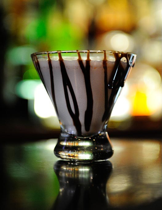 Chocolate Martini at Bin 73 in Oklahoma City, Monday, Dec. 1, 2014. - GARETT FISBECK