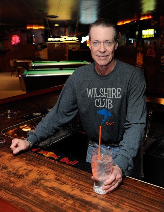 "Steve ""Shorty"" Short poses for a photo at Wilshire Club in Oklahoma City, Tuesday, Feb. 17, 2015. - GARETT FISBECK"