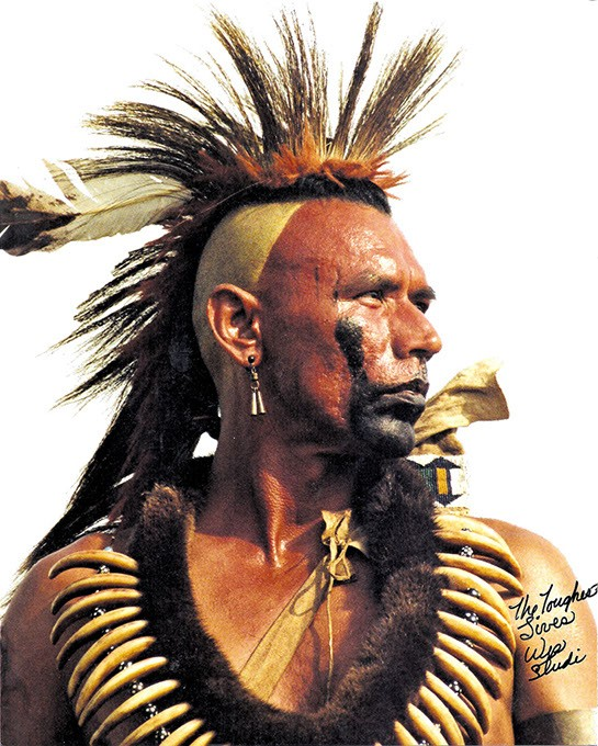 Wes Studi in Dances with Wolves. (Maura Dhu Studi / Provided)