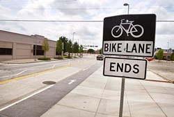 OKC will create 62 miles of new bike lanes. (Mark Hancock)