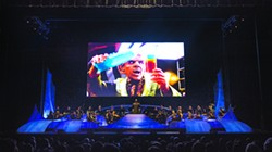 The Czech National Symphony Orchestra plays during Star Trek: The Ultimate Voyage - ERIKA GOLDRING / PROVIDED