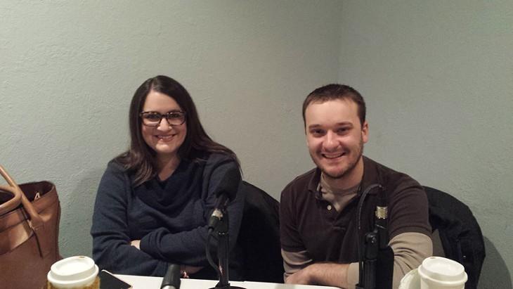 Cassi Peters and Joe Hartman.