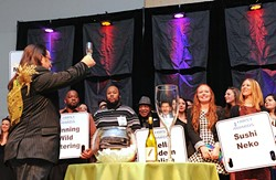 Restaurant employees are honored during the 15th annual Hirst Awards.Photo/Shannon Cornman - SHANNON CORNMAN