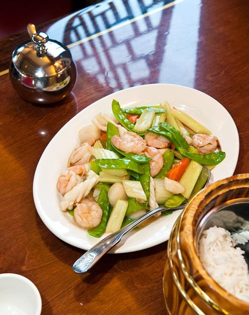 The Triple Delight at Fung's Kitchen. (Mark Hancock)