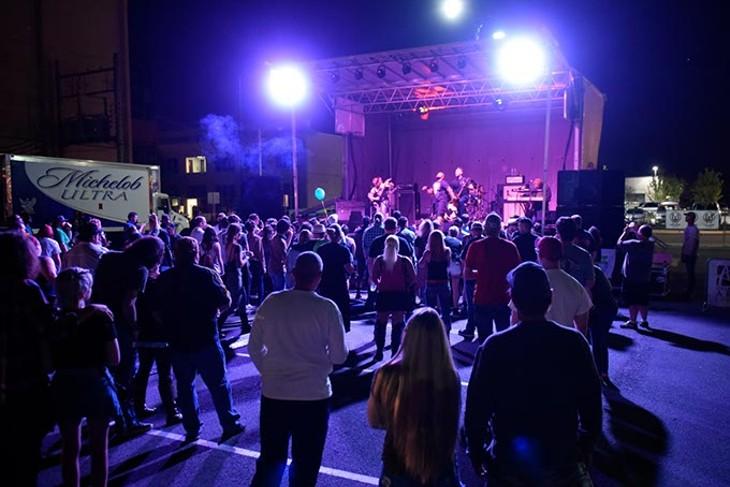 at Norman Music Festival 9 in Norman, Friday, April 22, 2016. - GARETT FISBECK