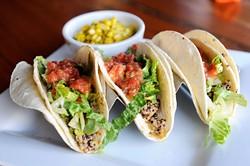 Picasso Cafe's quinoa tacos (Garett Fisbeck)