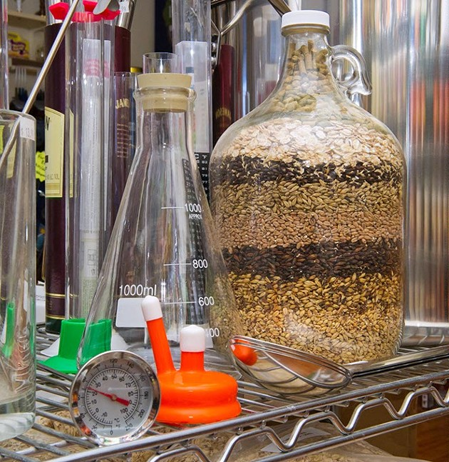 Ingredients and supplies for making your own brew at The Brew Shop. - SHANNON CORNMAN