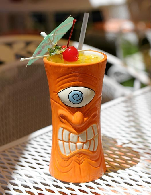 Mai Tai at R&J Supper Club in Oklahoma City, Wednesday, July 15, 2015. - GARETT FISBECK