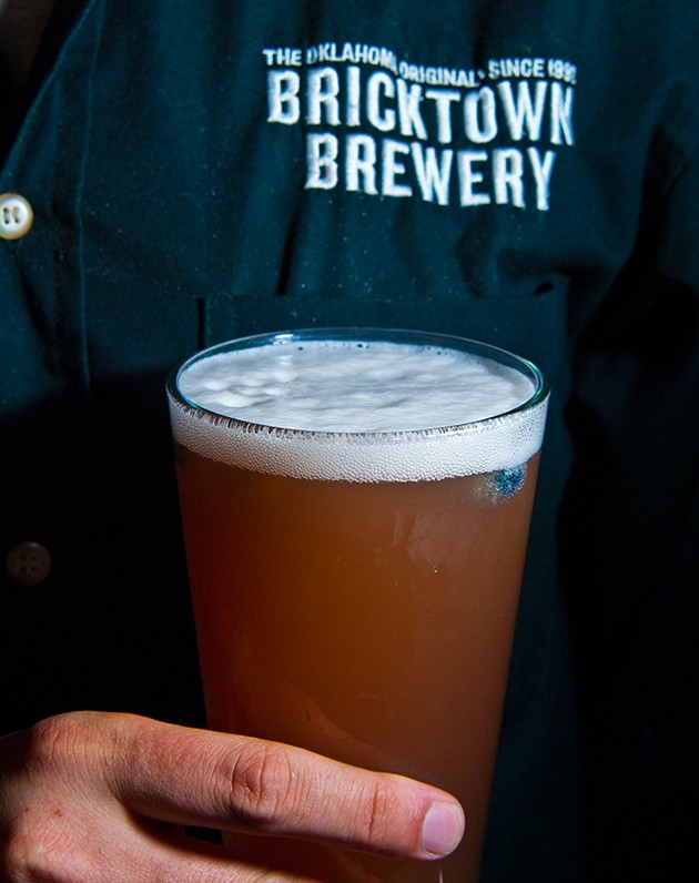 The Blues Berry Ale at Bricktown Brewery (Mark Hancock)