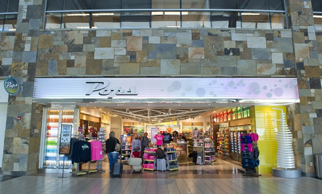 Pops has two locations at the WIll Rogers World Airport. - SHANNON CORNMAN