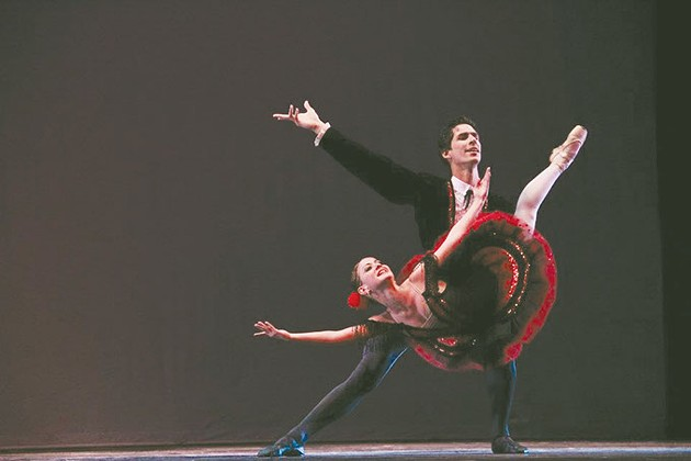 Don Quixote with Ecuador national ballet (Provided)