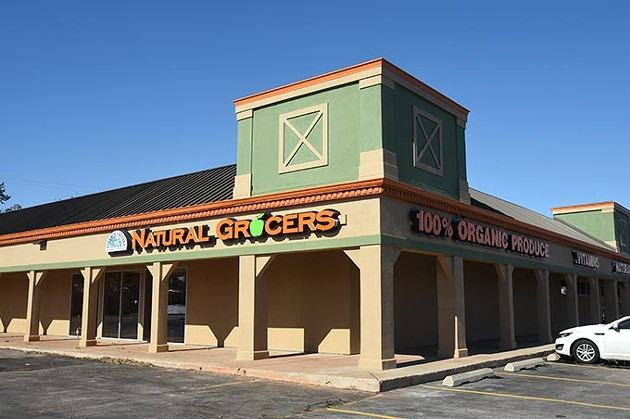 Natural Grocers at 7001 N. May Avenue.  mh