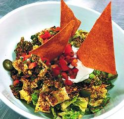 Nacho salad (Provided)