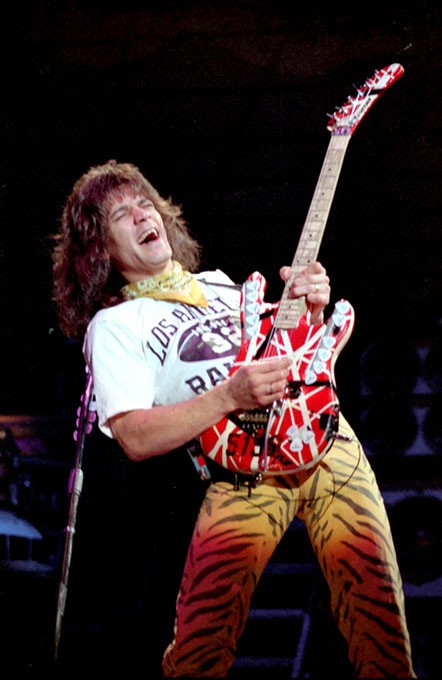 Opening night in Oklahoma City during Van Halen's 1984 heyday, June 1984. (Ronnie Green / Provided)