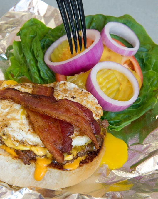 Dig into the daily special at the Patty Wagon (Shannon Cornman)