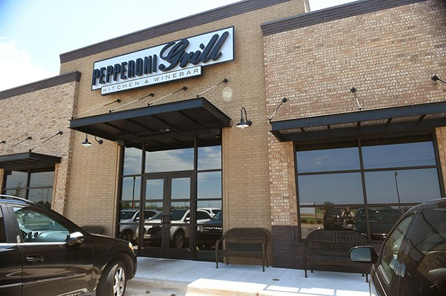 The new Pepperoni Grill, 1000 W. Covell Road in Edmond.  mh